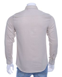 Austin Reed Men Beige Dobby Long Sleeves Formal Shirt S Buy Clothing Online Best Price And Offers Ksa Hnak Com