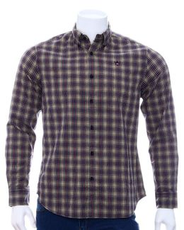 Austin Reed Men Dark Blue Checked Shirt S Buy Clothing Online Best Price And Offers Ksa Hnak Com
