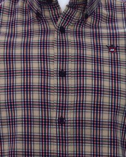 Austin Reed Men Dark Blue Checked Shirt S Buy Clothing Online Best Price And Offers Ksa Hnak Com