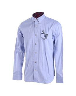 Austin Reed Men Blue Cotton Logo Print Shirt L Buy Clothing Online Best Price And Offers Ksa Hnak Com