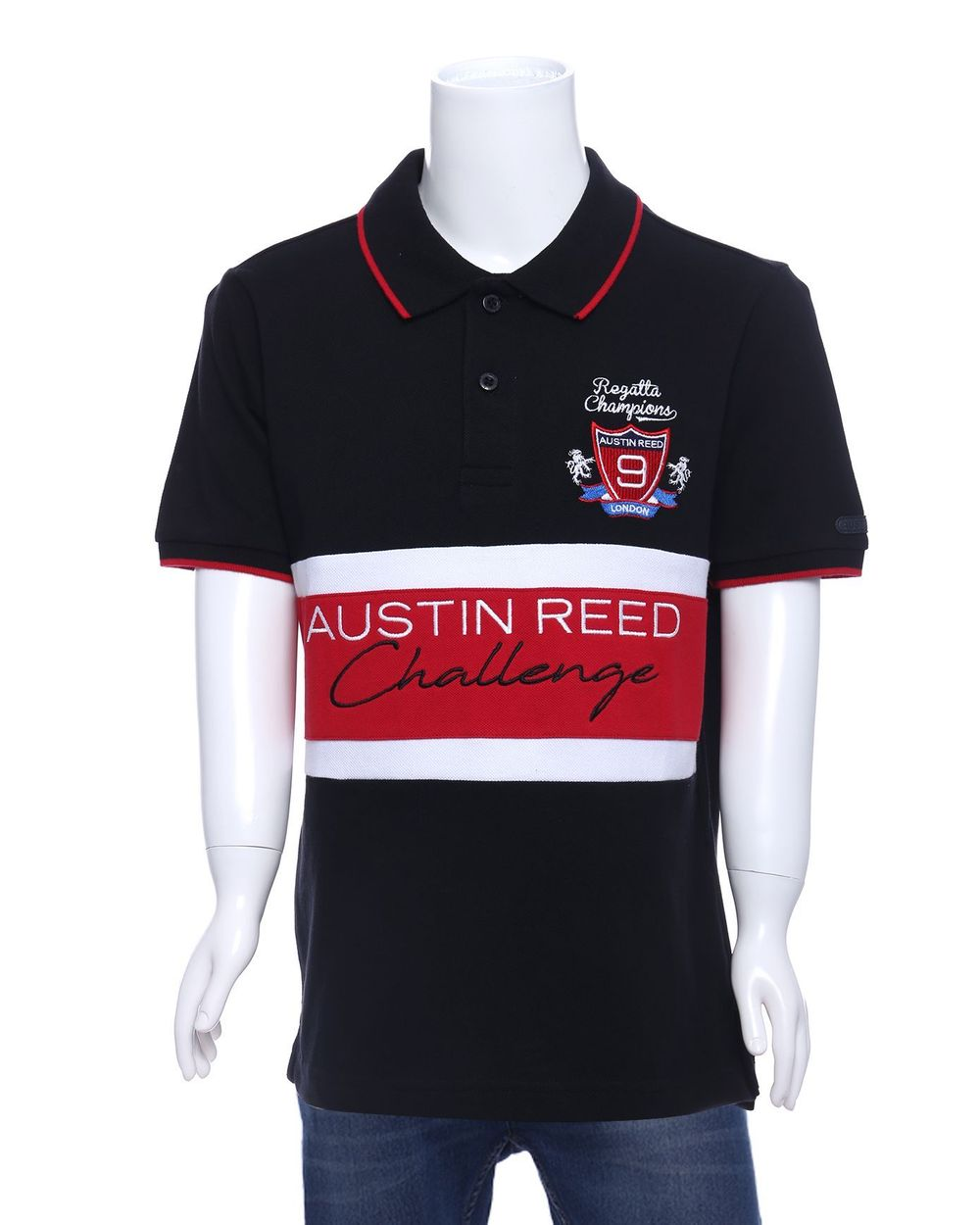 Austin Reed Regatta Boys Black Polo Shirt 11 12 Years Buy Clothing Online Best Price And Offers Ksa Hnak Com