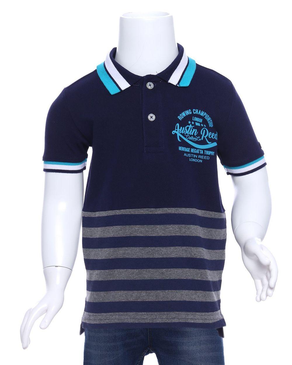Austin Reed Regatta Boys Black Striped Polo T Shirt 3 4 Years Buy Clothing Online Best Price And Offers Ksa Hnak Com