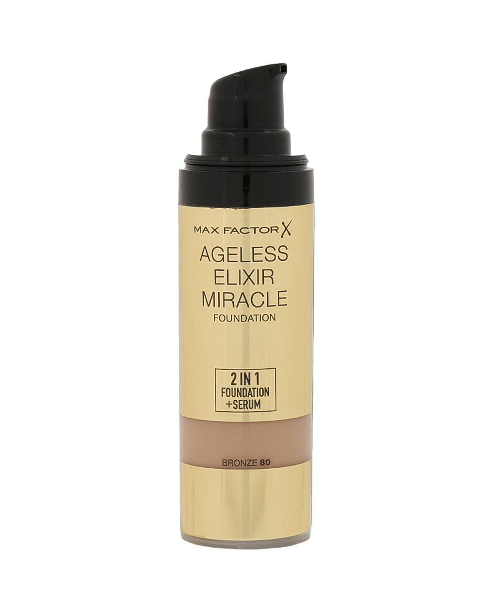 Max Factor Ageless Elixir Miracle 2-in-1 Natural Foundation ...